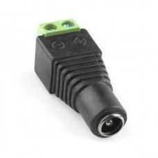 Female Jack DC Power Connector For CCTV