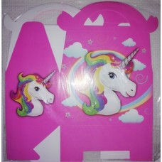 UNICORN PARTY SWEET BOX 6PACK