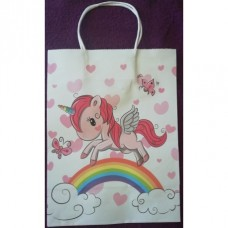 UNICORN GIFT BAG PINK LARGE