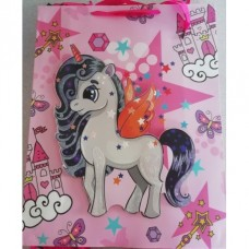 UNICORN GIFT BAG PINK XLARGE