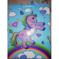 Unicorn Gift Bag Blue XLarge
