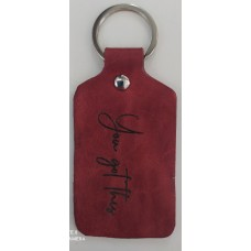 Keyring Leather You got this