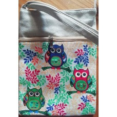 Slingbag Canvas Owl 2