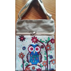 Slingbag Canvas Owl 1