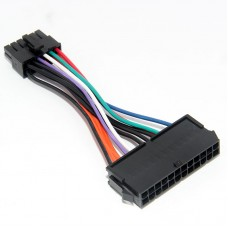 24Pin to 12Pin Power Cable ATX Converter Adapter