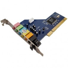 PCI Sound Card 7.1 Channel with Optical Out