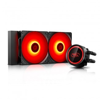 Deepcool Gammaxx L240T Red LED CPU liquid cooler