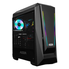 Azza CHROMA 410A Gaming Box With Tempered Glass Side Panel