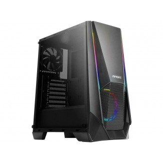 Antec NX310 ARGB Chassis - Tempered Glass Side Panel