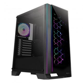 Antec NX600 ARGB Tempered Glass Gaming Chassis -  4 X Argb Fans Included