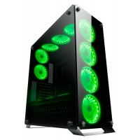 Redragon IRONHIDE Dual Side Tempered Glass Gaming Case