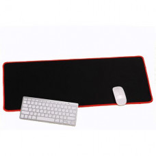 Gaming Mouse Pad Large 70x30cm Black With Red Edge