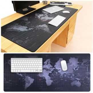 Gaming Mouse Pad Large 70x30cm World Map