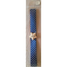Bookmark A3 Blue Polkadot Star