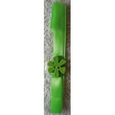 Bookmark A3 Green Flower