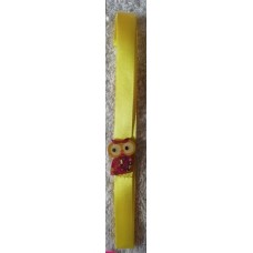 Bookmark A3 Yellow Owl