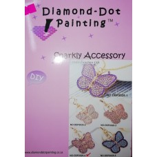 DIAMOND DOT PAINTING DIY SPARKLY ACCESSORY BUTTERFLY 2025-4