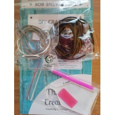 Bracelet DIY Craft Kit Purple