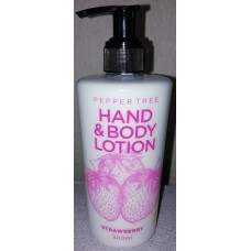 Pepper Tree Hand & Body Lotion Strawberry