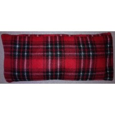Rice Bag With Fleece Cover Red Blocks