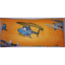 Rice Bag With Fleece Cover Yellow Planes