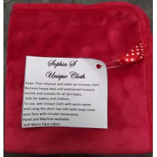 Make-up Remover Cloth Red