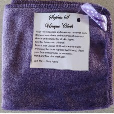 Make-up Remover Cloth Dark Purple
