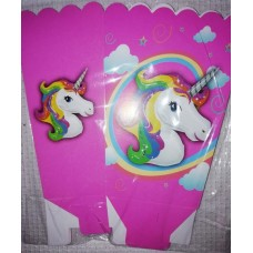 UNICORN POPCORN BOX 6PACK