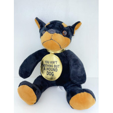 Stuffed Toy You aint nothing but a hound dog