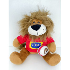 Stuffed Toy Rugby Lion Sitting