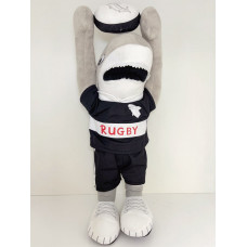 Stuffed Toy Rugby Shark Standing