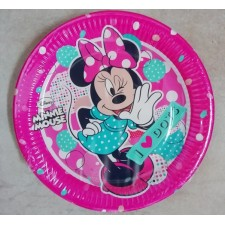 Party Plates Minnie Mouse
