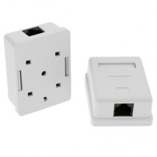 CAT5 Wall Box – Single RJ45
