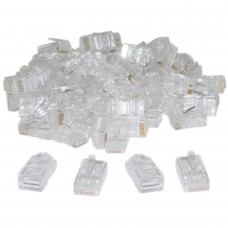 RJ45 CAT5e Connectors 100 Pack