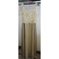 Dress Gold Colour Kelso